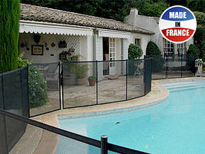 Barri re souple d montable pour piscine d 39 occasion for Barriere piscine souple