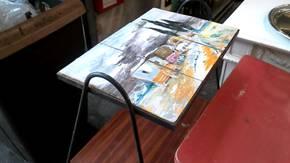 TABLE BASSE CARRELEE Saint fons
