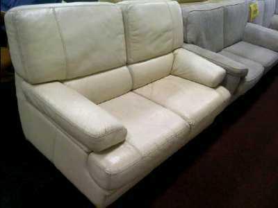 canape 2 places cuir en l 39 etat d 39 occasion. Black Bedroom Furniture Sets. Home Design Ideas