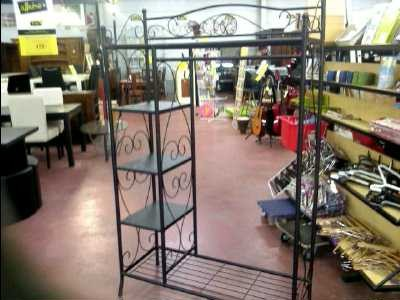 Etagere portant fer forge d 39 occasion - Portant vetement professionnel occasion ...