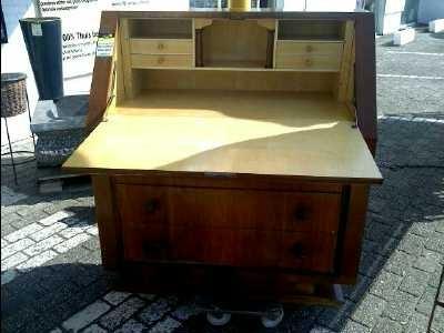 secretaire art deco d 39 occasion. Black Bedroom Furniture Sets. Home Design Ideas